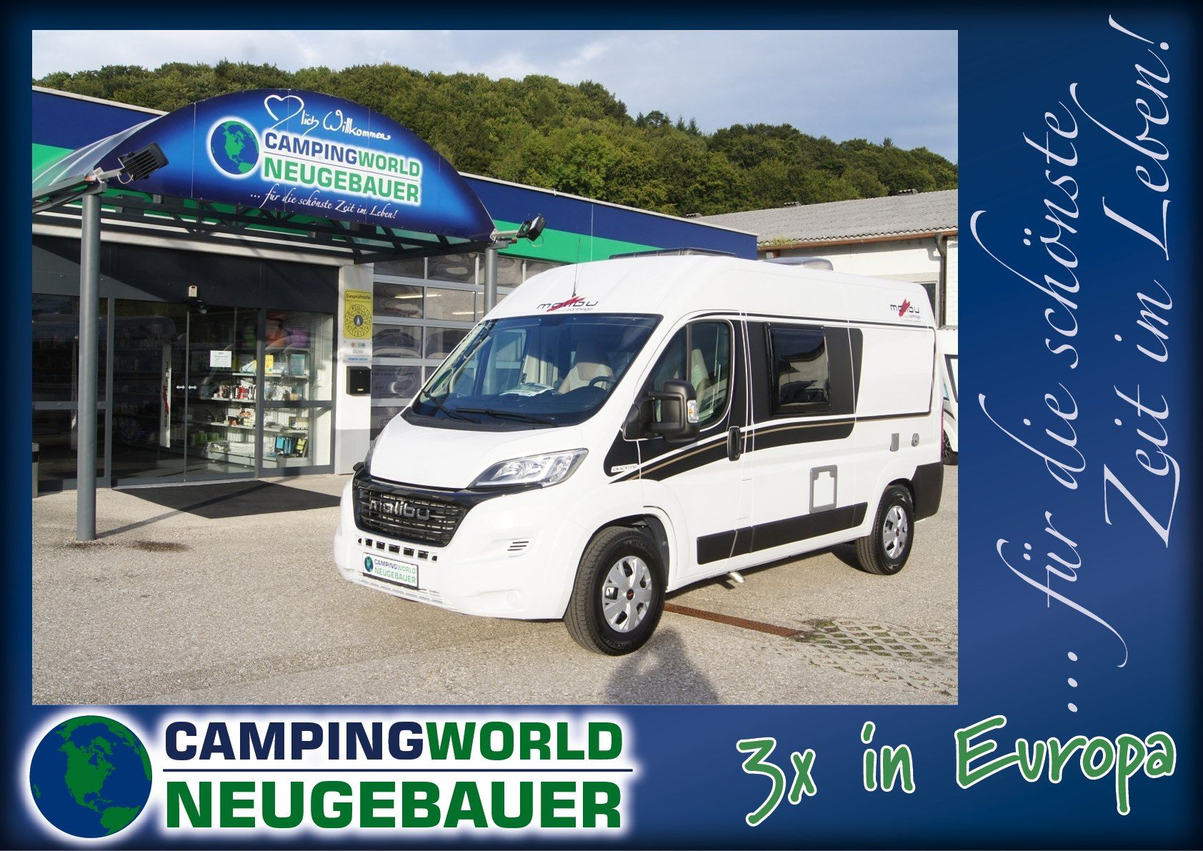 Malibu Van 540 DB low-bed - Bild 1