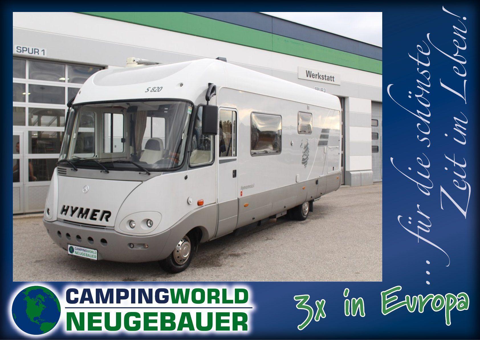 Hymer S-Klasse 820 - Bild 1