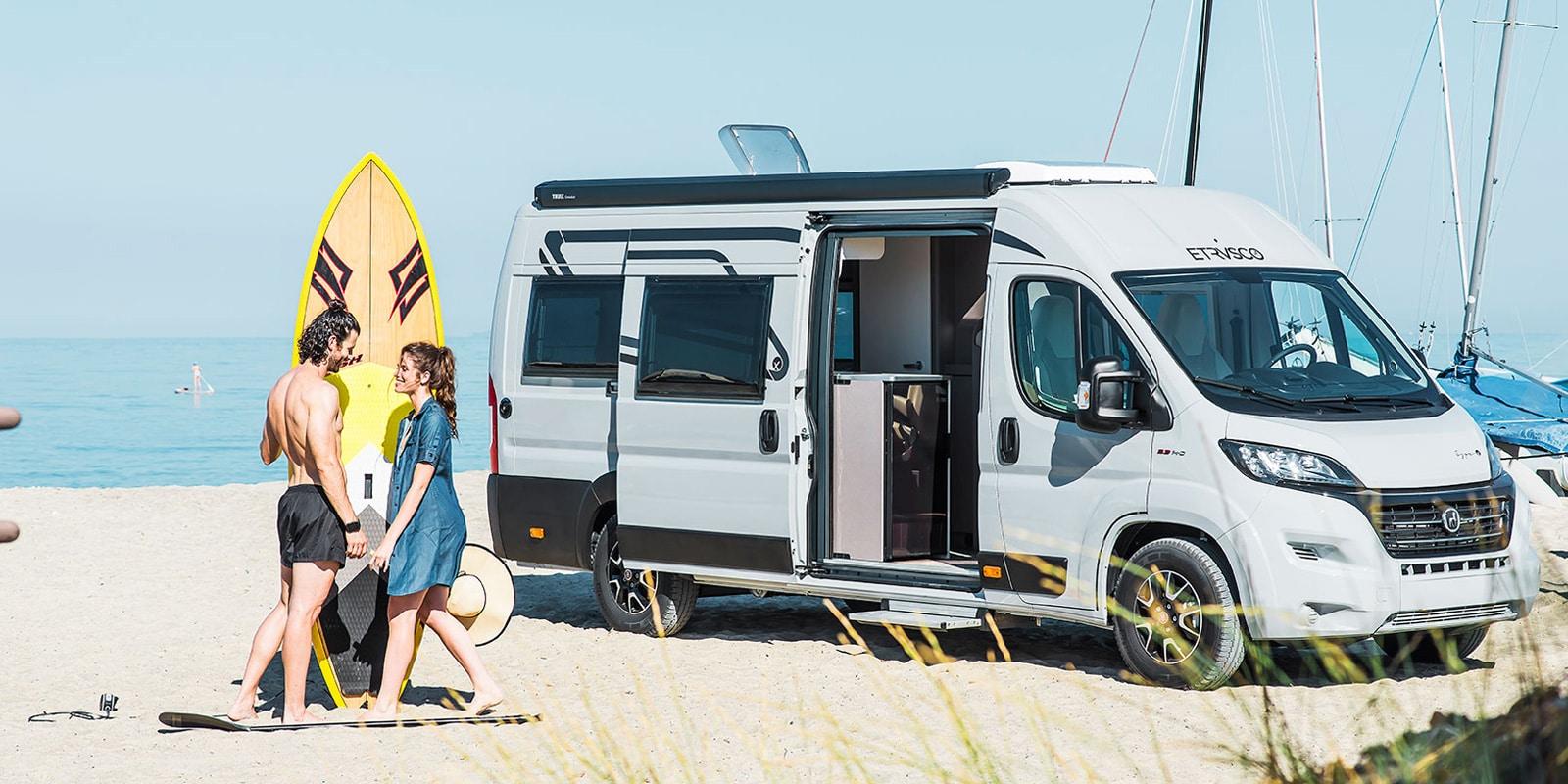 Etrusco Wohnmobile bei Campingworld Neugebauer Österreich